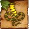 Statuetta del cobra Wounaan